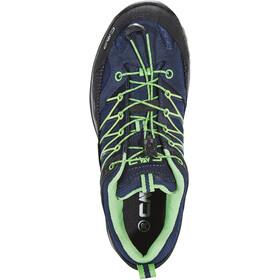 CMP Campagnolo Rigel WP Chaussures de trekking basses Enfant, black blue-gecko